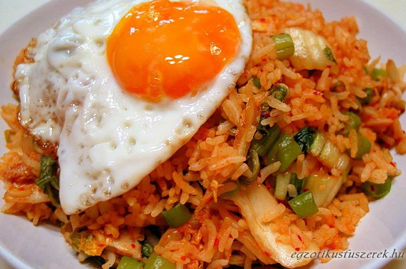 Nasi Goreng - az Indonéz Sült Rizs