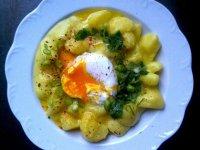 Krumplifőzelék - curry és kókusztejes csavarral