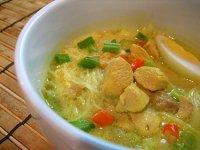 Soto Ayam, indonéz csikeleves