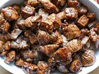 Ázsiai Steak Falatkák Marhahúsból