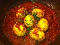 Tojás Curry Masala