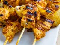 Marokkói Grillezett Csirke Saslikok