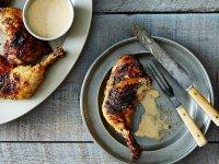 Barbecue Csirke Alabama Szósszal