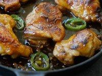 Vietnami Karamellás Csirkecombok