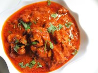Piros Indiai Csirke Curry