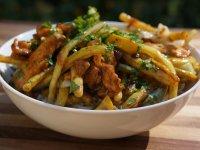 Zöldséges csirke Basmati rizzsel