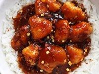 Mézes Sriracha Csirke