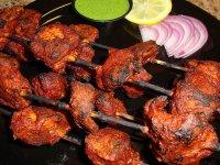 Indiai Tandoori Tikka Csirkehús Saslik