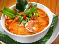 Thaiföldi Tom Yum Leves