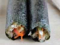 Zöldséges, Tojásos, Tofus Sushi tekercsek