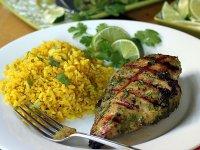 Zöldfűszeres Grillezett Pácolt Csirkemellek