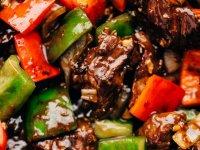 Marhahúsos, extra Fokhagymás, Gyors Ázsiai Stir Fry