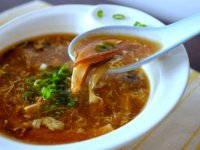 Csípős-Savanyú Kínai Leves - mint az Étteremben