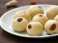 Sooji Ladoo, az indiai finomság