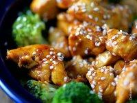 Narancsos Csirkefalatok kínai módra