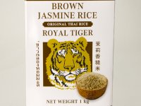Rizs - Jázmin, Barna Royal Tiger 1kg