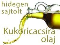 Kukoricacsíra olaj - Hidegen sajtolt 100 ml