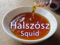 Halszósz Squid 700 ml