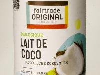 Kókusztej, Organikus, Fairtrade 400 ml