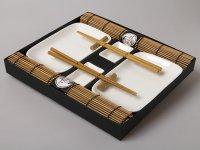 Sushi Teríték - Barna-fehér 2 személyes