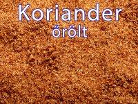 Koriander, őrölt - 100 g-os Kiszerelés