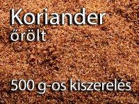 Koriander, őrölt - 500 g-os Kiszerelés