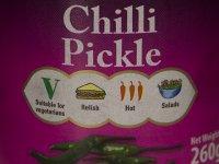 Chili Savanyúság, Pickle - Fűszerezett 260g