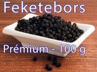 Feketebors, egész - Prémium 100 g-os kiszerelés