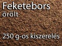 Feketebors, őrölt - Prémium 250 g-os kiszerelés