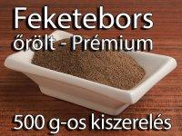 Feketebors, őrölt - Prémium 500 g-os kiszerelés