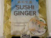 Sushi Gyömbér Fehér - 240g
