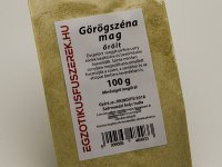 Görögszéna mag, őrölt - 100 g-os kiszerelés