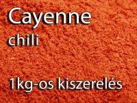 Cayenne bors, őrölt - 1000 g-os kiszerelés