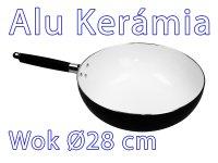 Alu Kerámiabevonatú Wok - Ø 28 cm
