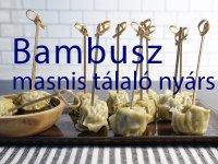 Bambusz Masnis Tálaló Nyárs - 100 db