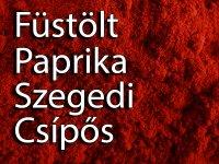 Füstölt Paprika, Magyar, Szegedi - Csípős 100 g
