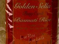 Rizs - Basmati, Golden Sella - 2 kg