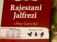 Jalfrezi Curry Főzőszett - 20 perces Cooking Kit