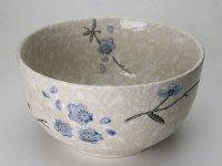 Rizstál, Levesestál - Japán Snowflake mintás 11 cm