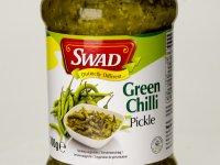 Chili savanyúság, Pickles - Zöld Chiliből, csípős