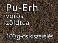 Pu-Erh Vörös zöldtea - 100g-os kiszerelés