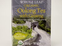 Oolong Ginseng Bio filteres Tea - Uncle Lee's