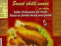 Chiliszósz, Édes - Csirkéhez 4,3 literes