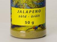 Jalapeno Chili Őrölt - Zöld Fűszerszóróban 50g