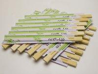 Evőpálcika, 20 pár - Eldobható, Bambusz