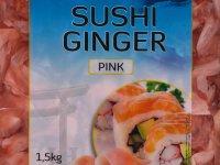 Sushi Gyömbér Rózsaszín - 1500 g