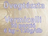 Üvegtészta, Vermicelli tészta 6 kg (50x120g)