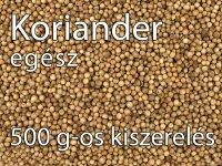 Koriander, egész - 500 g-os kiszerelés