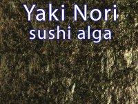 Yaki Nori, Prémium A+, Pörkölt Alga Lap, Sushihoz