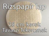 Rizspapír tészta, Tavaszi tekercsnek, 28 cm, 500g